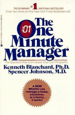 Cover image for The one minute manager