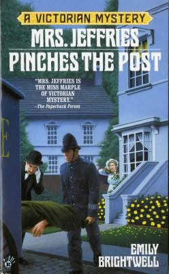 Cover image for Mrs. Jeffries pinches the post