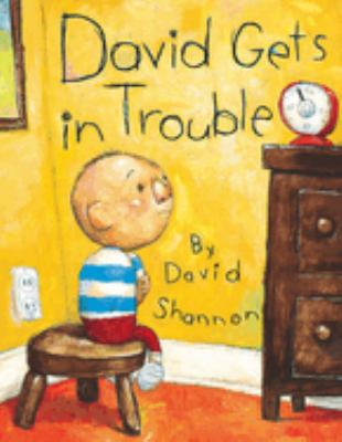Cover image for David gets in trouble