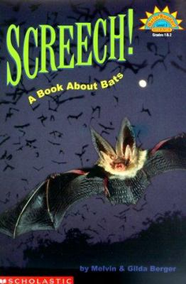 Cover image for Screech! : a book about bats