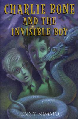 Cover image for Charlie Bone and the invisible boy