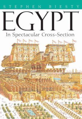 Cover image for Egypt in spectacular cross-section