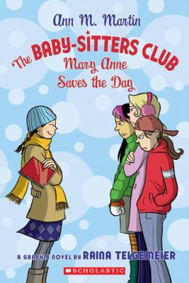 Cover image for Mary Anne saves the day : a graphic novel