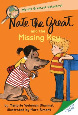 Cover image for Nate the Great and the missing key