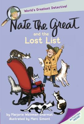 Cover image for Nate the Great and the lost list