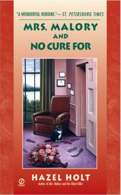 Cover image for Mrs. Malory and no cure for death : a Sheila Malory mystery