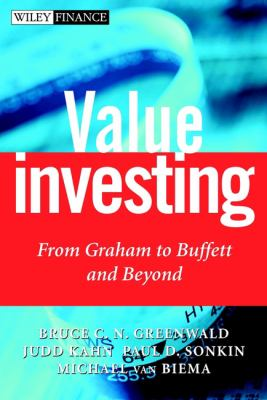 Cover image for Value investing : from Graham to Buffet and beyond