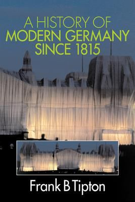 Cover image for A history of modern Germany since 1815