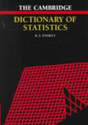 Cover image for The Cambridge dictionary of statistics