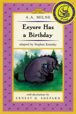 Cover image for Eeyore has a birthday