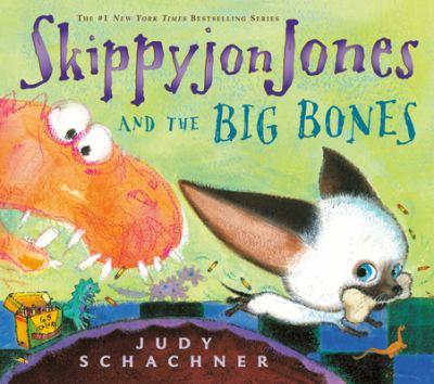 Cover image for Skippyjon Jones and the big bones