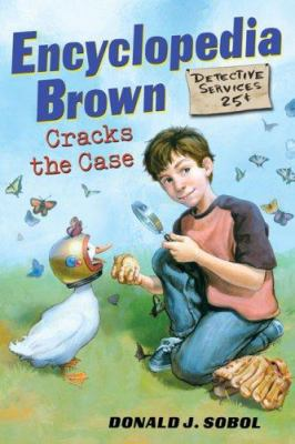 Cover image for Encyclopedia Brown cracks the case
