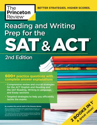 Cover image for Reading and writing prep for the SAT & ACT