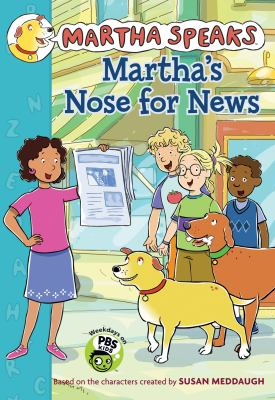 Cover image for Martha's nose for news