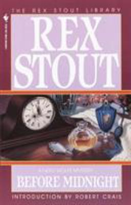 Cover image for Before midnight : a Nero Wolfe mystery