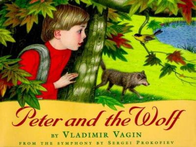 Cover image for Peter and the wolf