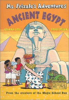 Cover image for Ms. Frizzle's adventures in Egypt