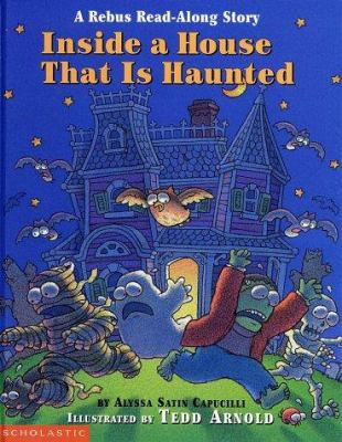 Cover image for Inside a house that is haunted : a rebus read-along story