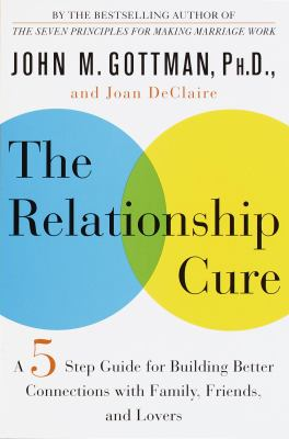 Cover image for The relationship cure : a five-step guide for building better connections with family, friends, and lovers