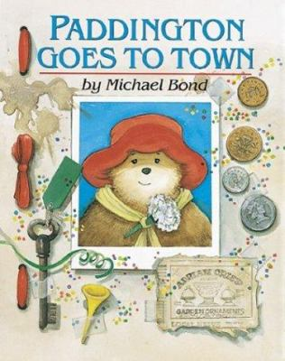 Cover image for Paddington goes to town