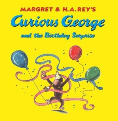 Cover image for Curious George and the birthday surprise