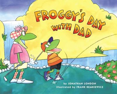 Cover image for Froggy's day with Dad