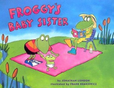 Cover image for Froggy's baby sister
