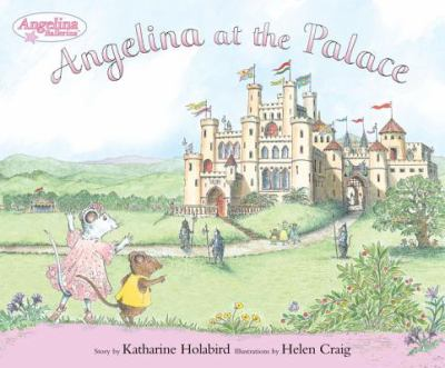 Cover image for Angelina at the palace