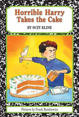Cover image for Horrible Harry takes the cake