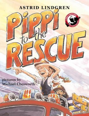 Cover image for Pippi to the rescue