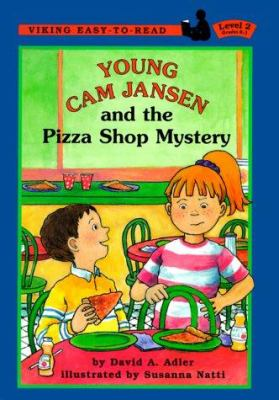 Cover image for Young Cam Jansen and the pizza shop mystery