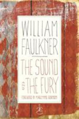 Cover image for The sound and the fury