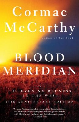 Cover image for Blood meridian, or, The evening redness in the West