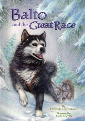 Cover image for Balto and the great race