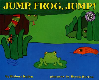 Cover image for Jump, frog, jump!