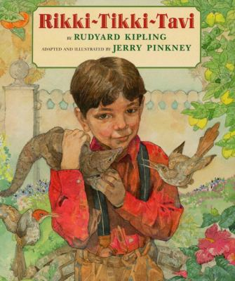 Cover image for Rikki-tikki-tavi