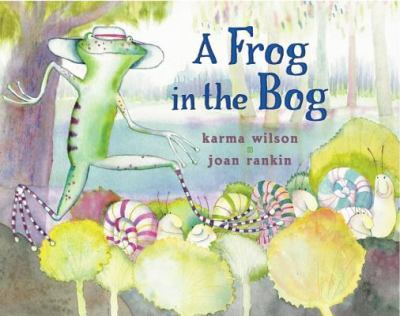 Cover image for A frog in the bog