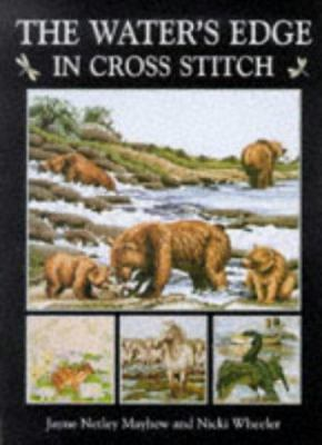 Cover image for The water's edge in cross stitch
