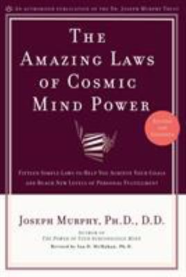 Cover image for The amazing laws of cosmic mind power