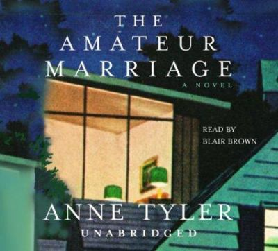 Cover image for The amateur marriage