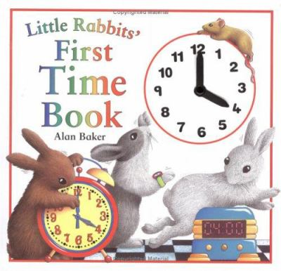 Cover image for Little Rabbit's first time book