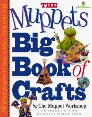 Cover image for The Muppets' big book of crafts