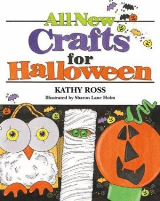 Cover image for All new crafts for Halloween