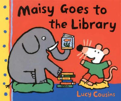 Cover image for Maisy goes to the library