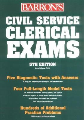 Cover image for Barron's Civil Service clerical examinations