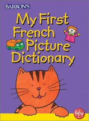 Cover image for My first French picture dictionary