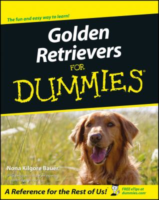 Cover image for Golden retrievers for dummies