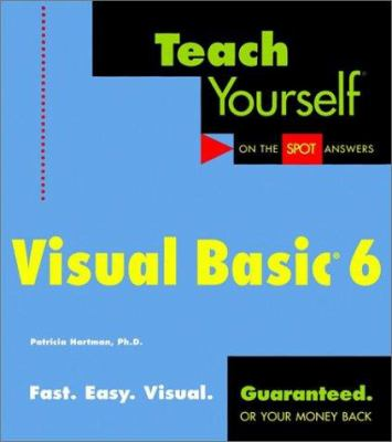 Cover image for Teach yourself Visual Basic 6