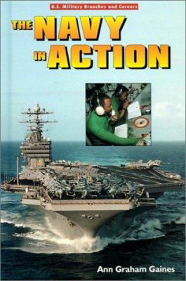 Cover image for The navy in action