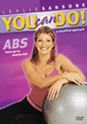 Cover image for You can do! Abs, featuring the stability ball